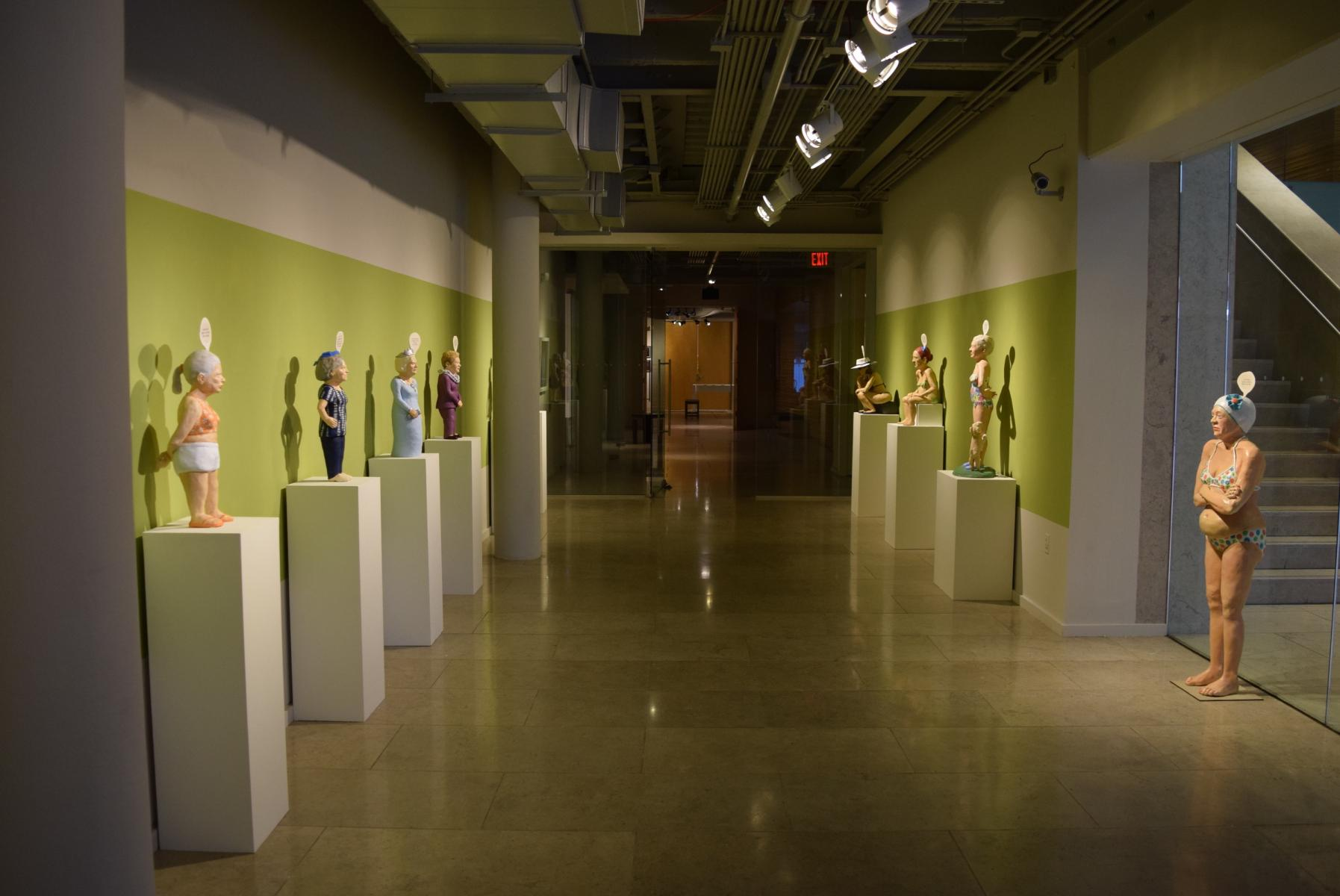 Solo show at Acadiana Center for the Arts, Lafayette, Louisiana
